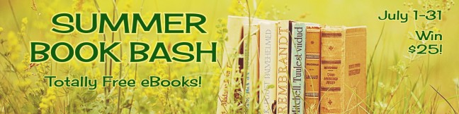Summer Book Bash Banner
